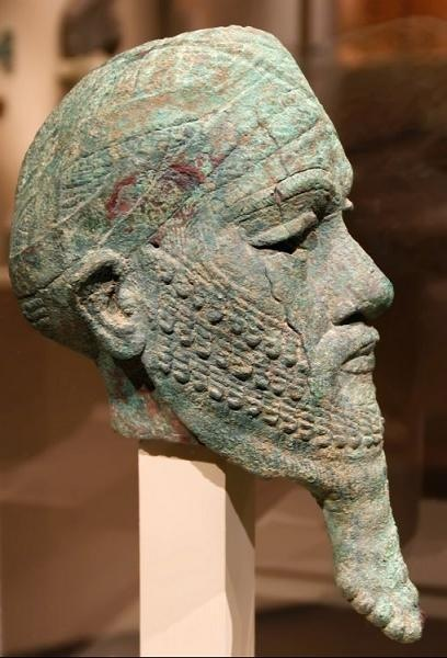 Ur-Nammu, ancient king of Ur, very important mixed-breed of the time, leader of the 1st civilized world, found in Sumer