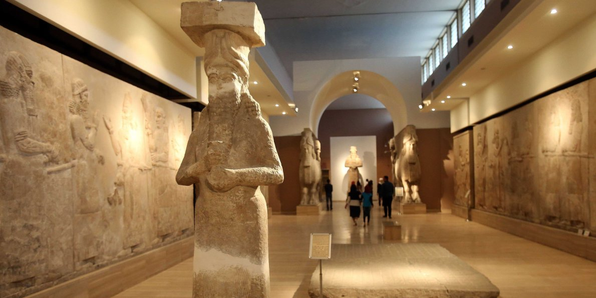 isis destroys Enki statue, ancient artifacts in iraq