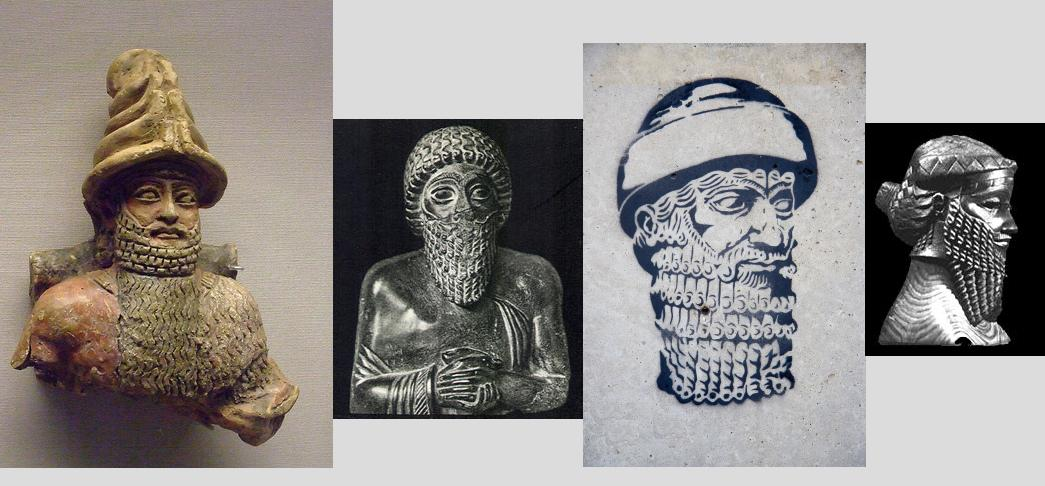 Utu & servants, 3 mixed-breed kings, & others for thousands of years taking their orders from Anunnaki gods