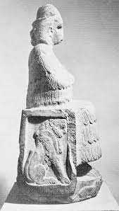 2 - Inanna on her throne of Leo the lion