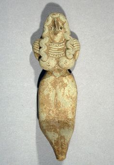 Inanna in the nude as the goddess of love