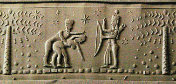 ancient sex & goddess of war Inanna in Jericho