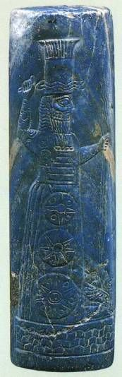 15i - Marduk, Babylonian artefact found in the Berlin Museum
