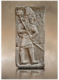 10h - alien god Adad - Ishkur ancient stele