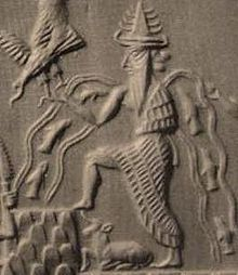 11 - Enki - Ea, god of waters, Anu's eldest & wisest son, 1st to arrive on Earth with his crew of 50