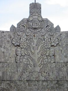 13 - Mayan artefact; Enlil's symbol Tree of Life in Mexico