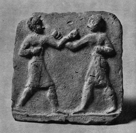15j - Babylonian entertainment sport of boxing, 2050 BC