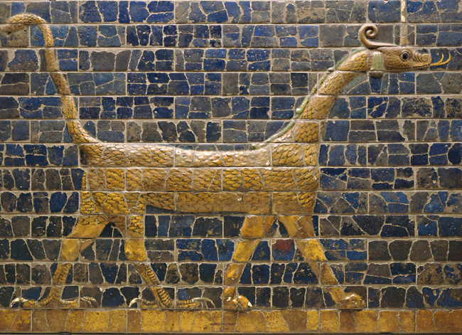 3 - Marduk's symbol on gate wall to Babylon