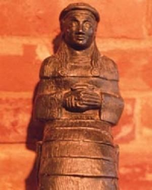 4 - Ningal, patron goddess of Ur for tens of thousands of years, also in the time of Abraham
