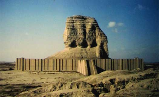 8g - ziggurat-residence of Nabu, forbidden launch site of his father Marduk