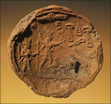 9 - Shala & spouse Adad royal seal