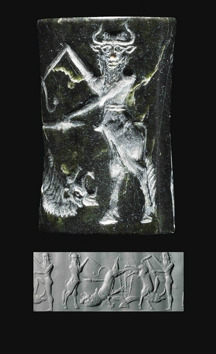 Enkidu & Gilgamesh kill demons, history preserved from thousands of years ago