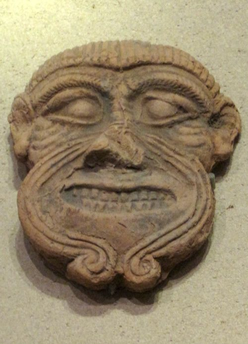 Humbaba, Enlil's guardian of his Lebanon Cedar Forest