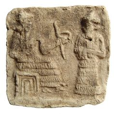 15h - eldest son Marduk & his father Enki; Marduk once was promised to be successor to grandfather Anu's throne after father Enki, all was changed when Enlil was born