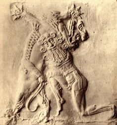 one of many Gilgamesh artefacts, popular mixed-breed ancient Uruk king