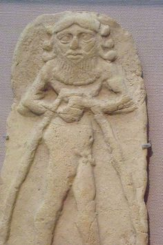 unidentified early Uruk king, thousands of years ago