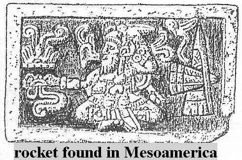 10 - Rocket With Shem Found in Mesoamerica