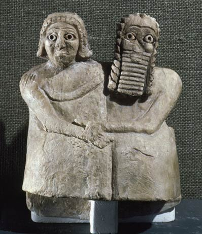 10d - Shuruppak king Ziusudra - Noah & his spouse, Gilgamesh discovered them alive after thousands of years had past since the Great Flood