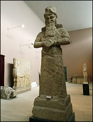 12 - Nabu, actual life-sized image of the giant alien god , son to Marduk