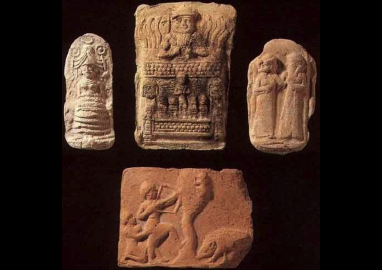13 - Inanna, Ninurta, & Inanna with spouse Dumuzi