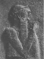 150a - giant mixed-breed Babylonian King Hammurabi of Babylon