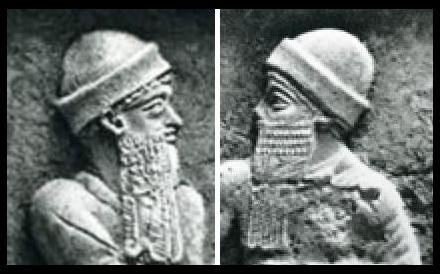 150b - Hammurabi & son with mixed blood-line from the gods