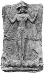 15a - winged pilot Inanna - Ishtar, Goddess of Love