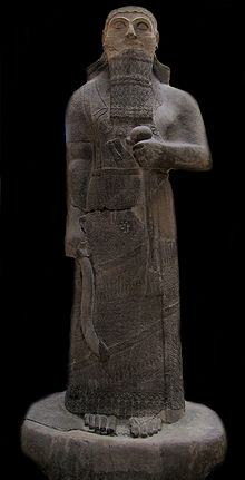 15b - Assyrian giant King Shalmaneser III, mighty man ruled 858-824 B.C., artefact rests in Istanbul Museum