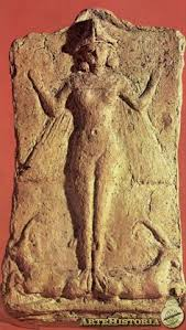 15b - winged pilot Inanna - Ishtar, Goddess of Love