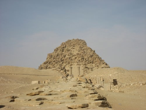 17 - ziggurat temple-residence of Nabu in Borsippa, his home very near his father Marduk's home in Babylon