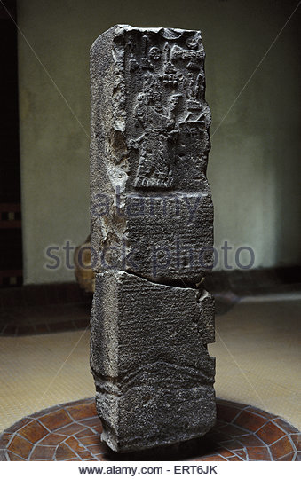 17b - Adad-nirari-III on his obelisk, taller, stronger, faster, smarter, & lived longer than earthlings, the alien gods perfect go-between directing from themselves to earthlings