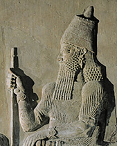 19a - Assyrian King Sargon II, a descendant of one of the gods, a giant mixed-breed, demi-god, & mighty man