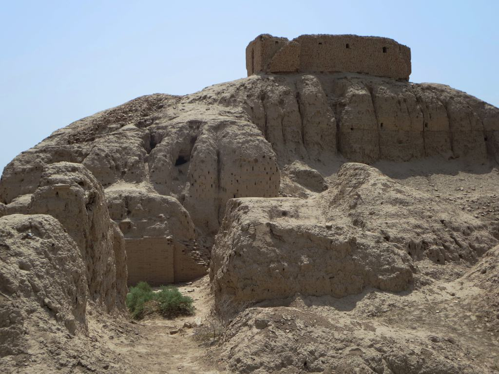 1g - E-kur residence of Enlil & Ninlil, top added by American archaeologists in 1900
