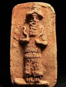 21 - Nergal relief, alien god who fired nuclear missiles at Marduk & sons