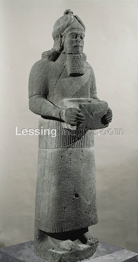 Giant alien god Ashur, eldest twin son to Marduk