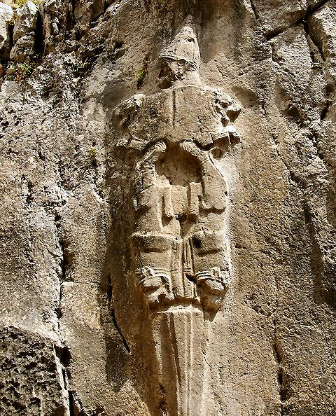29 - Nergal wall relief, Hittite artefact in Turkey