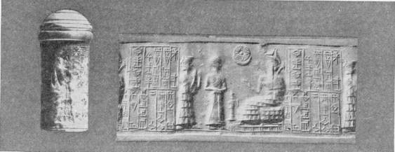 29 - Ninsun, her mixed-breed son-king Gudea, & Ningishzidda