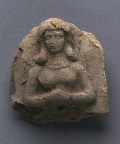 40 - young goddess Inanna relief
