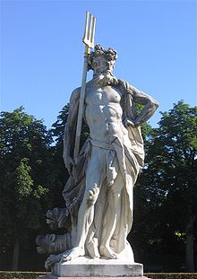 42 - statue of Roman god Pluto - Nergal, well known in all cultures of ancient history