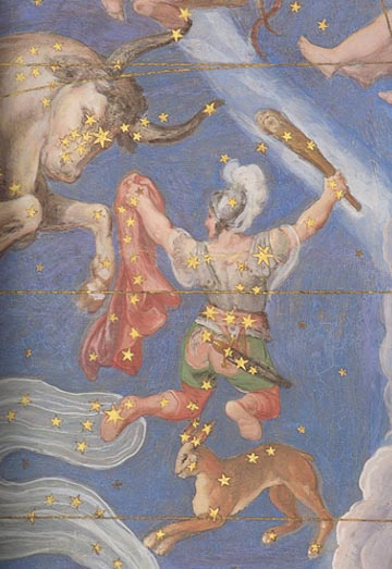 51 - Constellations, Orion, named after Ashur - Orion, Osiris