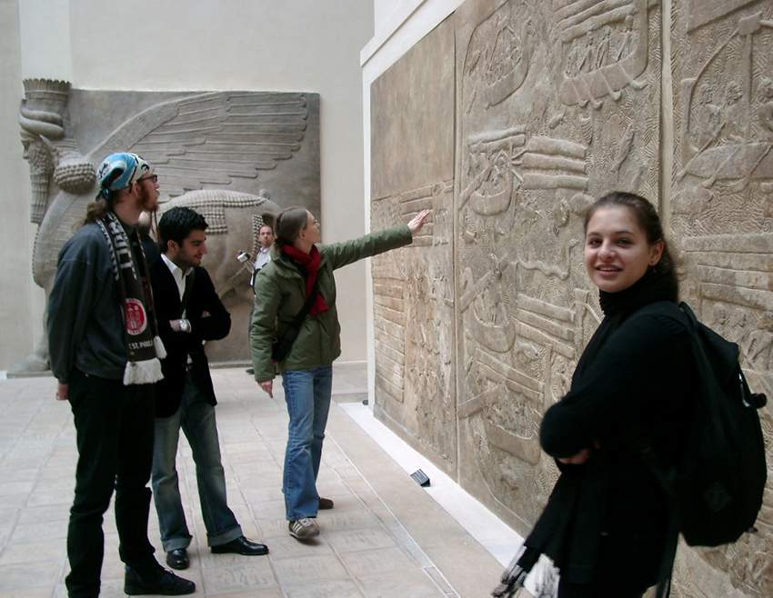 6 - Assur artifacts, wall reliefs in museums