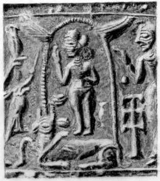 7a - Inanna is taken, stripped, & executed by Ereshkigal in the Underworld