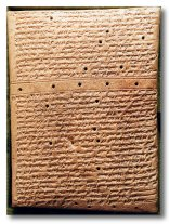 7cc - Royal Anals of King Tiglath-Pilerer I, kings eventually learned the divine knowledge of reading & writing