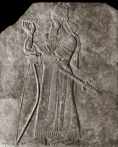 21c - Ashurbanipal, mixed-breed mighty man king of Assyria