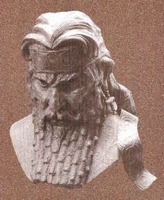 20 - Assyrian mighty man King Sennacherib, ruled 704-681 B.C.