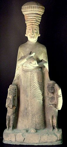 Kubaba - Kug-Bau, giant mixed-breed female leader of Kish, Queen & King in one, ruled Kish kingdom for over 100 years, 2,500 B.C.