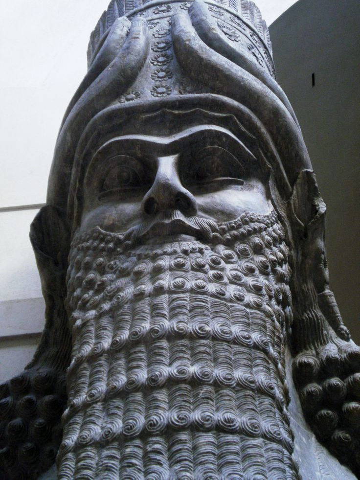 70 - ancient Mesopotamia god Ninurta, Baghdad Iraq