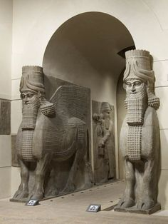 19oa - palace entrance of Sargon II