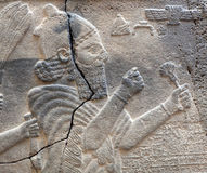 33 - ancient stone bas relief, late-Hittite period