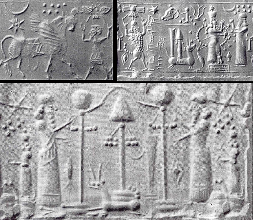 51 - symbols of the giant alien gods from planet Nibiru